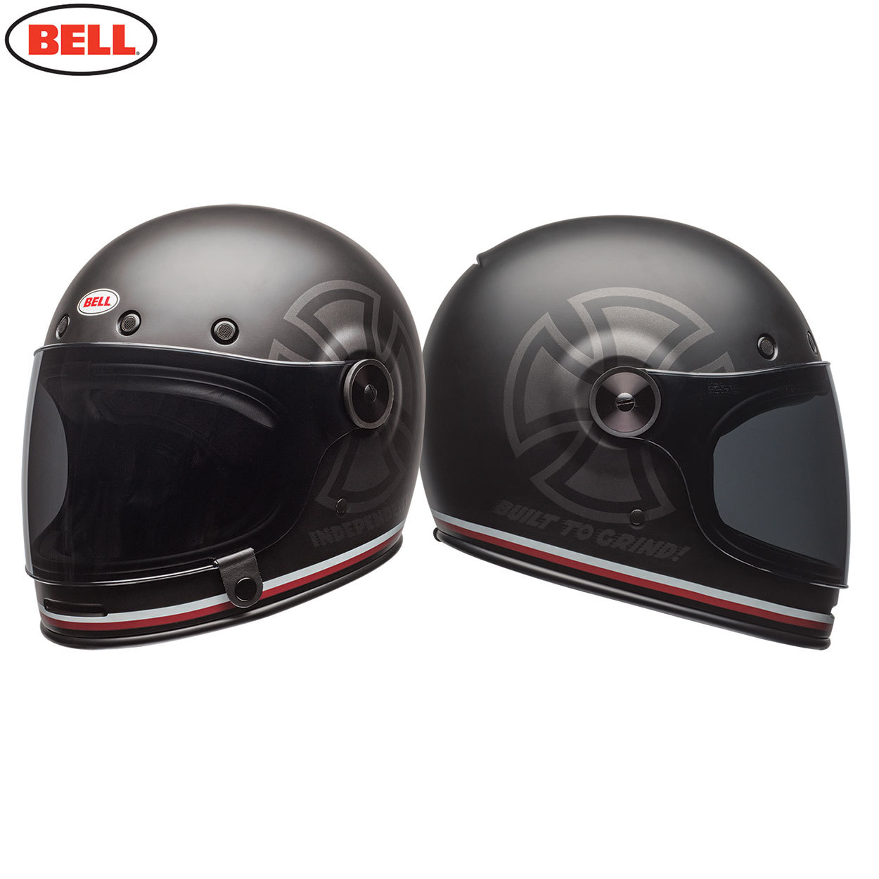 bell cruiser bullitt se adult helmet independent black. Black Bedroom Furniture Sets. Home Design Ideas